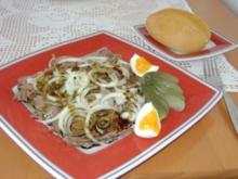 Saures Rindfleisch - Rezept