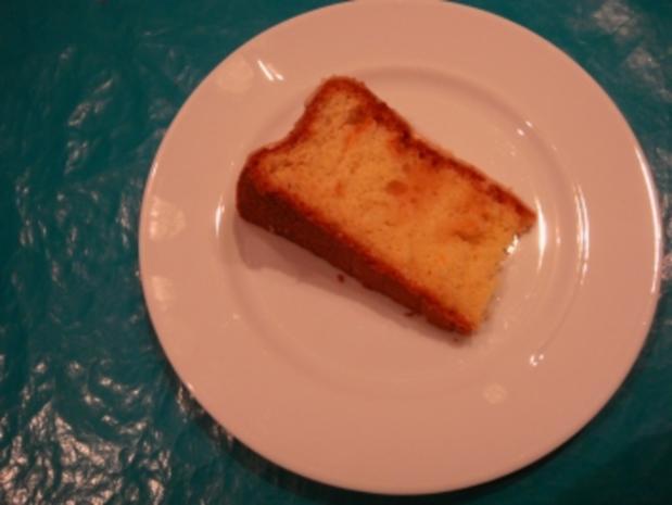 Kuchen: Orangenkuchen mit Schuss - Rezept - Bild Nr. 2