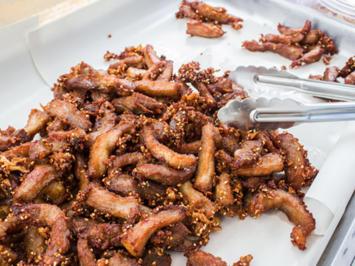 Rezept: Knuspriges Rindfleisch in Chilisauce