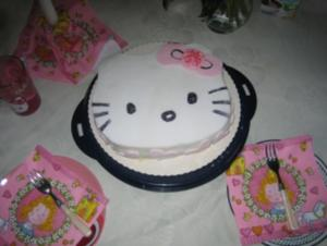 Hello Kitty Torte - Rezept