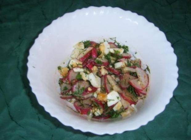Radieschensalat - Rezept