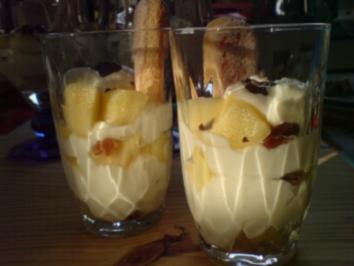 Apfel-Vanille-Schichtspeise - Rezept