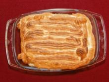 Helado de vanilla con caramello y frambuesa con fuego artificiales (Hans Meiser) - Rezept