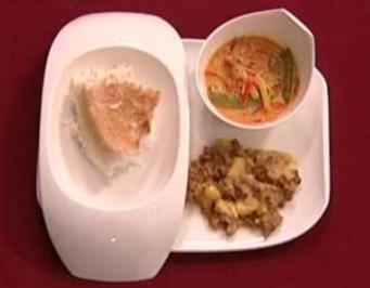 Asiatische Variation - Tofu-Bananen-Ananas-Gericht (Kerstin Landsmann) - Rezept