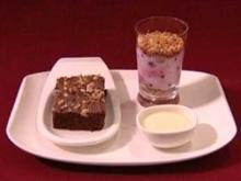 Lecker Nachtisch - Mascarpone-Beeren-Creme mit Krokant (Kerstin Landsmann) - Rezept