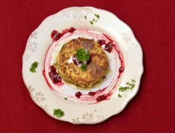 Crique de Pommes de terre, Zucchini à la Crème fraîche (Maite Kelly) - Rezept
