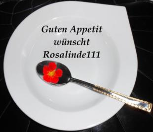 Käseröllchen mit Rucolapesto - Rezept