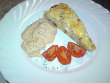 25min. Fladenbrot mit Feta und Tomate - Rezept
