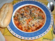 Bunter Süßkartoffel-Gemüse-Eintopf - Rezept