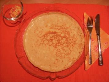Rezept: Pfannkuchen - Grundrezept