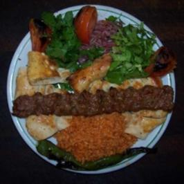 Adana Kebap Hackfleischspieße - Rezept