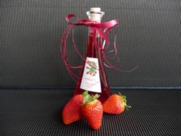 Erdbeerlikör - Rezept