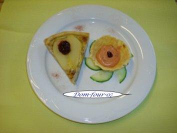 Gorgonzola mit Birne und Preiselbeere in Blätterteig - Rezept