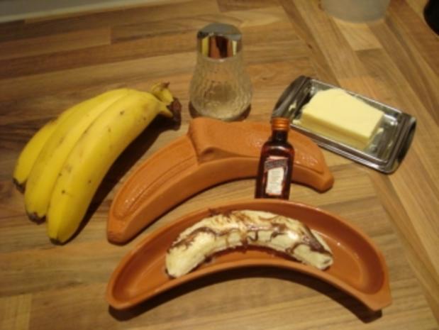 *Dessert - Banane im Römertopf - Rezept - Bild Nr. 3