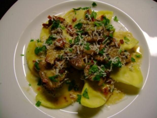 Pilze: Austernpilz Ragout  mit Frühlingszwiebeln - Rezept - Bild Nr. 3