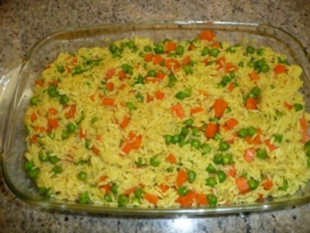 Reis- Gemüse-Auflauf - Rezept