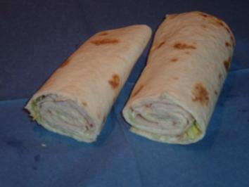 Rezept: Wraps mit Putenfüllung