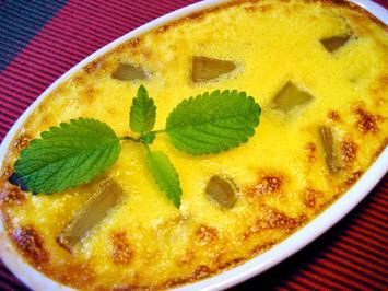 Rhabarber-Dessert... - Rezept - Bild Nr. 8347