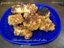 Hähnchennuggets schnell selber gemacht - Rezept