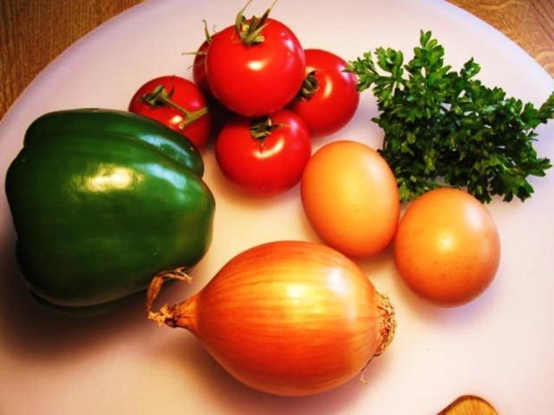 Gemüse-Tortilla - Rezept