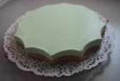 grüne Philadelphia-Torte - Rezept