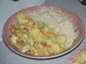 Chicken Madras - Rezept