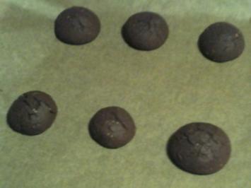 Black Cookies - Rezept