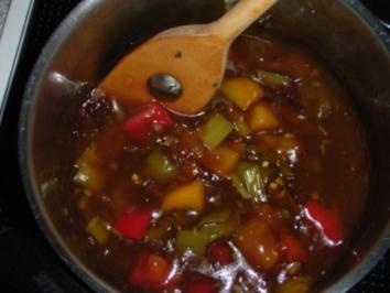 Chinesische Sauce süss- sauer Dida ' s Art - Rezept