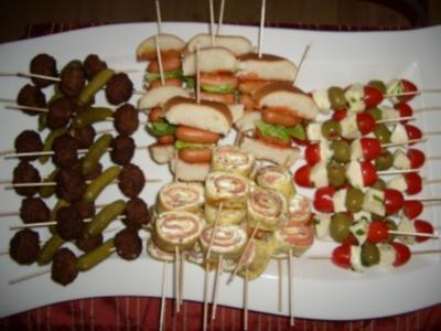 Fingerfood für Party - Rezept