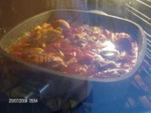 Spanien - Katalanisches Hühnchen - Pollo a la catalana - Rezept