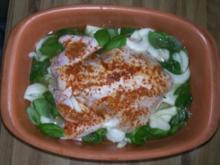 Zitronenhuhn bzw. Zitronenhähnchen mit Naturreis im Römertopf - Rezept