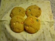 Kekse/Cookies: M&M Cookies - Rezept