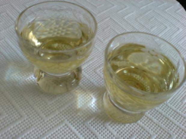 Basilikumlikör - Rezept