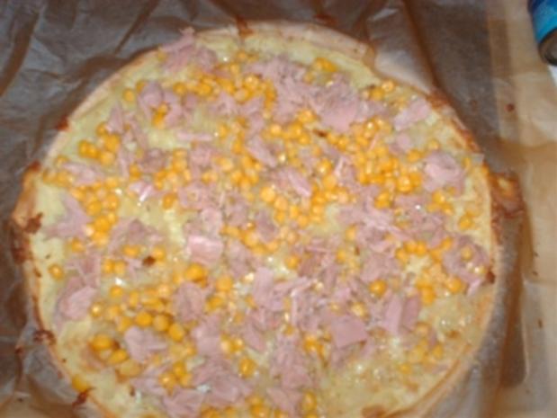 Kartoffel - Thunfisch Quiche - Rezept