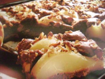 Birnenkuchen versunken - Rezept