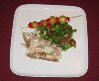Dorade im Salzmantel mit Lemonates - Rezept
