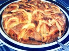 KUCHEN: Versunkene-Äpfel-Kuchen - Rezept