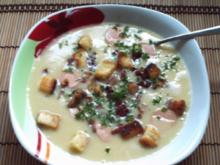 Feines Kartoffelsüppchen mit versch. Einlagen - Rezept