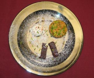 Halva und Schoko-Ingwer-Kuchen - Rezept
