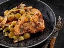 Oma´s Huhn im Ofen - Rezept - Bild Nr. 2