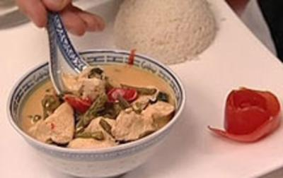 Rezept: Red Curry mit Huhn (Isabel Varell)