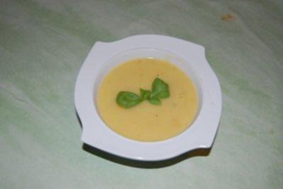 Kürbiscremesuppe - Rezept