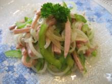 Erfrischender Wurstsalat - Rezept