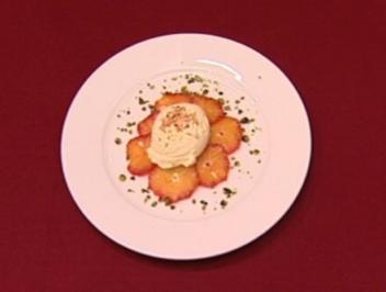 Marinierte Orangen mit Vanille-Eis (Joko Winterscheidt) - Rezept