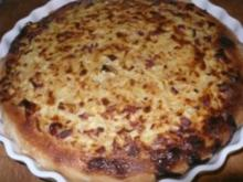 Badischer Zwiebelkuchen - Rezept