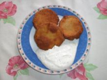 Knusprige Auberginen mit Knoblauchdip - Rezept