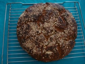 Brot: Kartoffelbrot mit Haferflocken - Rezept