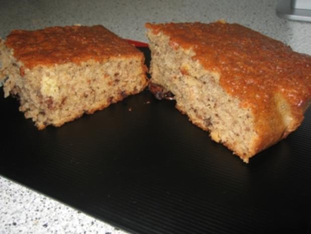 fettarmer bananen-choko-kuchen - Rezept