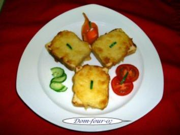 Rezept: Käsebrot gebacken mit Pfiff