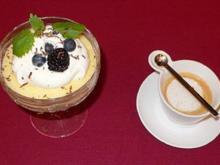 Oma Elses Zitronencreme mit Kräuter-Espresso - Rezept